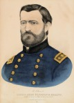 Lieut. Genl. Ulysses S. Grant. General in Chief of the Armies of the United States. Published by Currier & Ives, 152 Nassau St. [New York].  Lithograph, original hand color, undated.