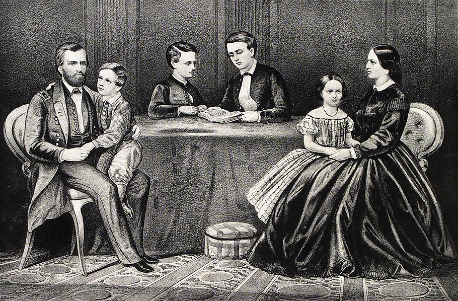Ulysses Grant Family c...