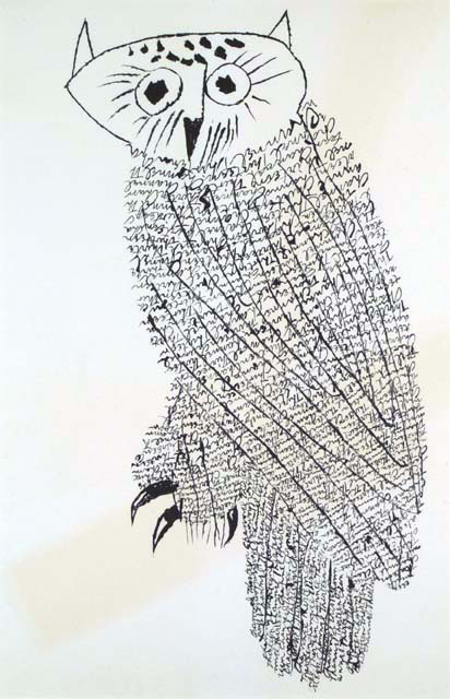 Owl No. 1. By Ben Shahn. Lithograph, 1968. $1,200.00