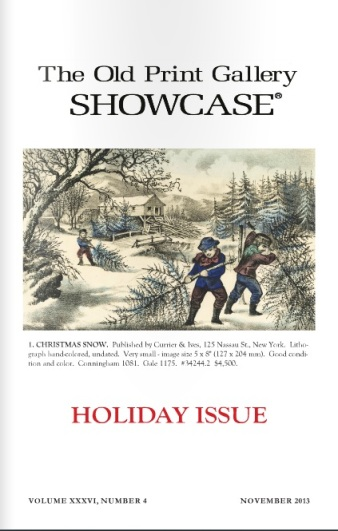 The Old Print Gallery Showcase. Holiday 2013. CLICK TO READ!