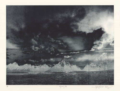 Wyoming VII. By Sylvie Covey.  Photogravure, 2011. Edition of 6. LINK
