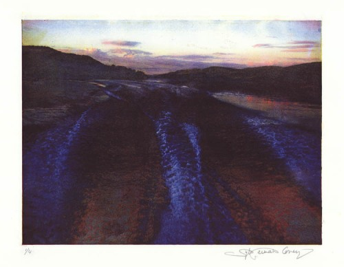 Lake George I. By Sylvie Covey. Photolithograph, 2010. Edition of 4. LINK.