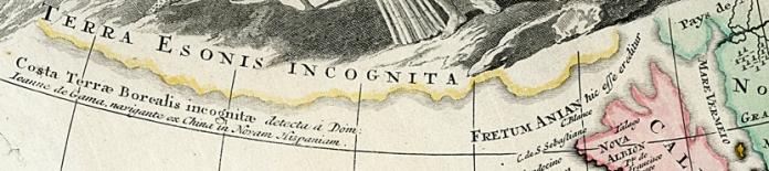 Detail of Terra Esonis Incognita